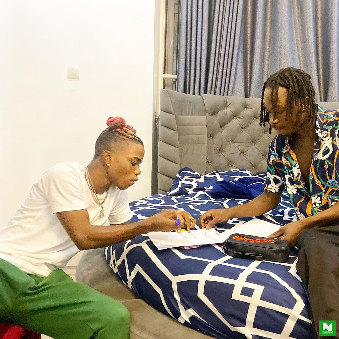 Naira Marley Welcome Lyta To Marlian Music Family
