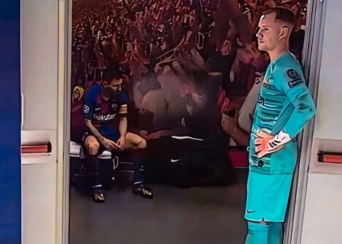 Lionel Messi 'Isolates' Himself From Teammates After Barca Defeat