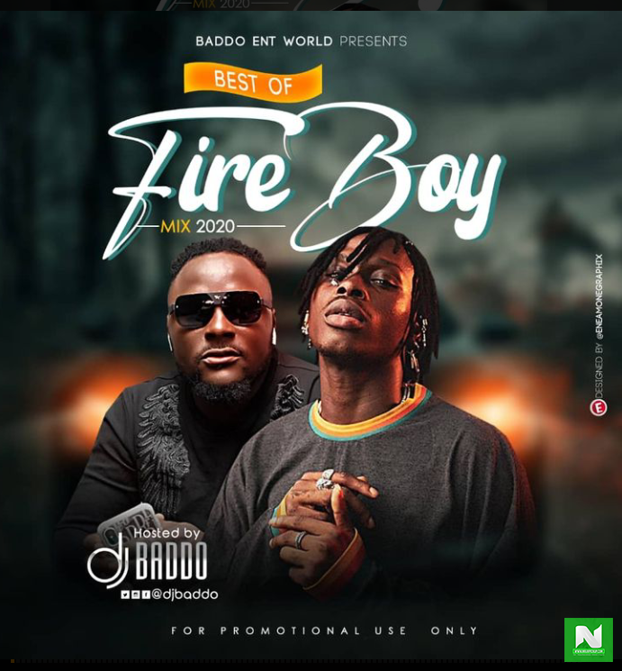 Dj Baddo - Best Of Fireboy DML