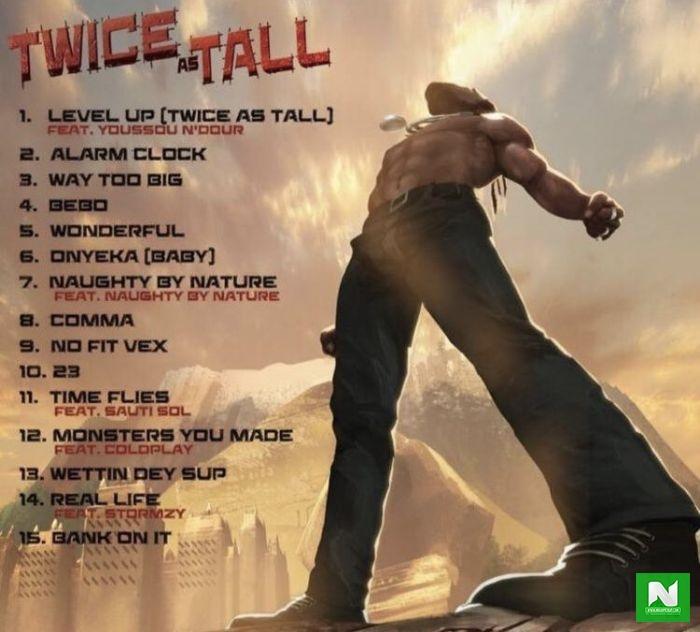 Twice As Tall Album Tracklist