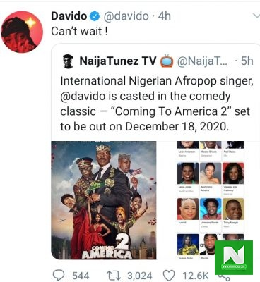 Davido-Confirms-He-Will-Feature-In-Coming-to-America-2