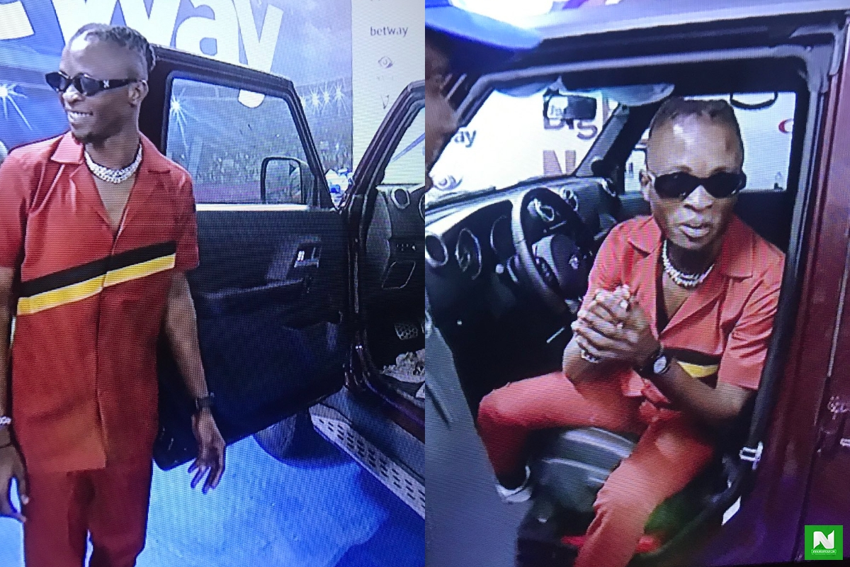 The Moment Laycon Was Handed The Keys To His New IVM SUV (Video)