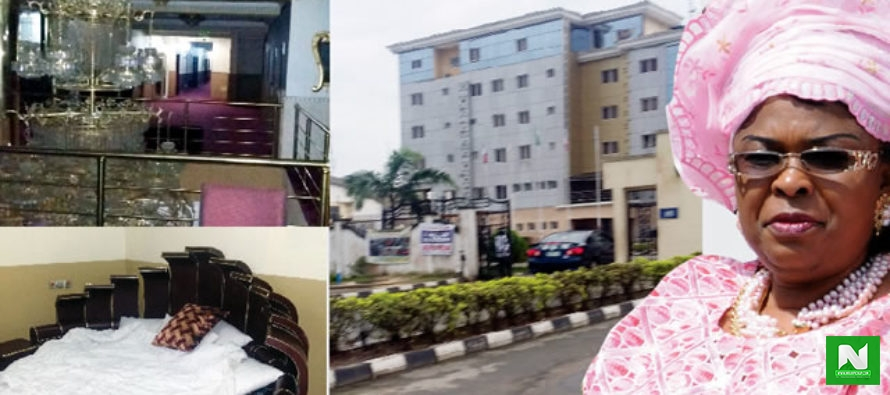 Remember The Former 1st Lady's Hotel Which Cost ₦2 Billion, See Its State Now After It Was Seized By Government