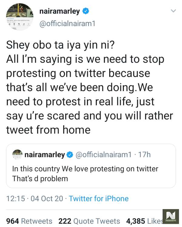 Love Protesting On Twitter