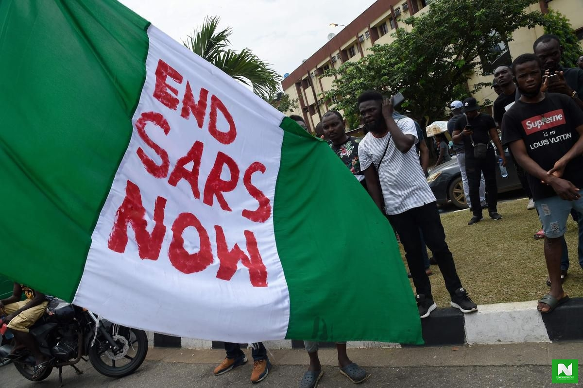 Thousands marched the streets for #ENDSARS protest in Toronto