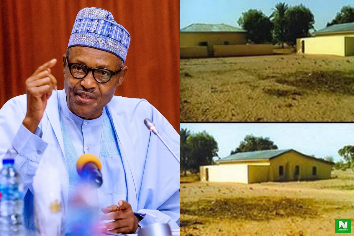 Remember Buhari's House In Daura? SEE Photos Of His Estate In Katsina