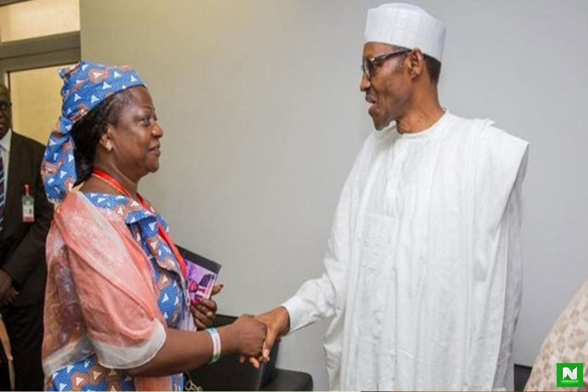 #EndSARS Is Organized By Dumb Kids - Pres. Buhari's Aide Lauretta Onochie Claims