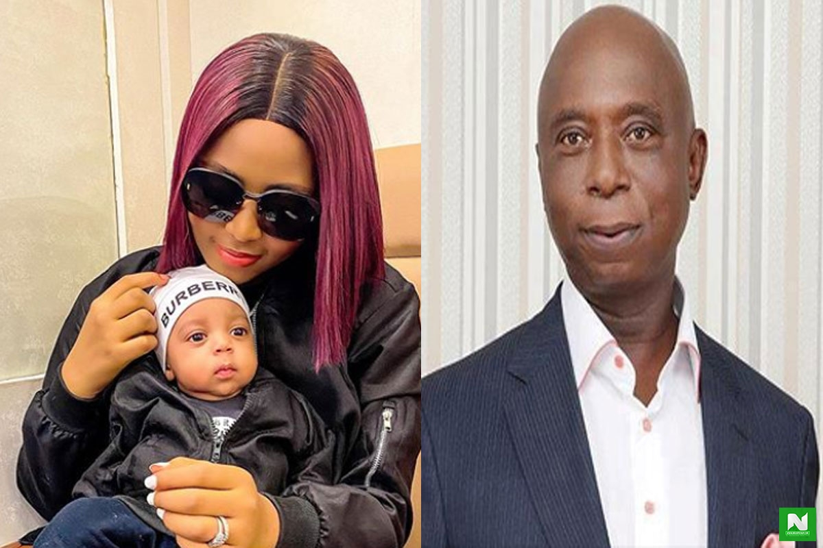Ned Nwoko And Regina Daniels Fire Gun At Each Other: Stirs Breakup Rumors Again— VIDEO