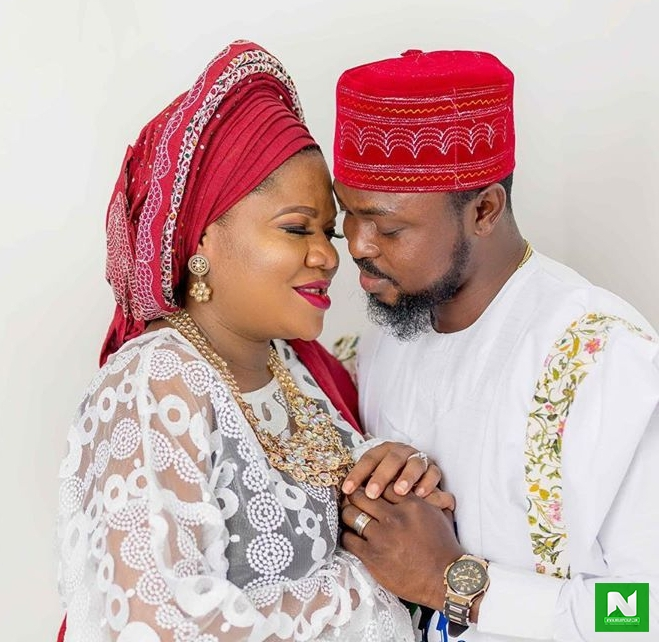 Relationships Last Longer Because Two People Decide To Keep It- Kolawole Ajeyemi Gushes Over Wife, Toyin Abraham With Romantic Message