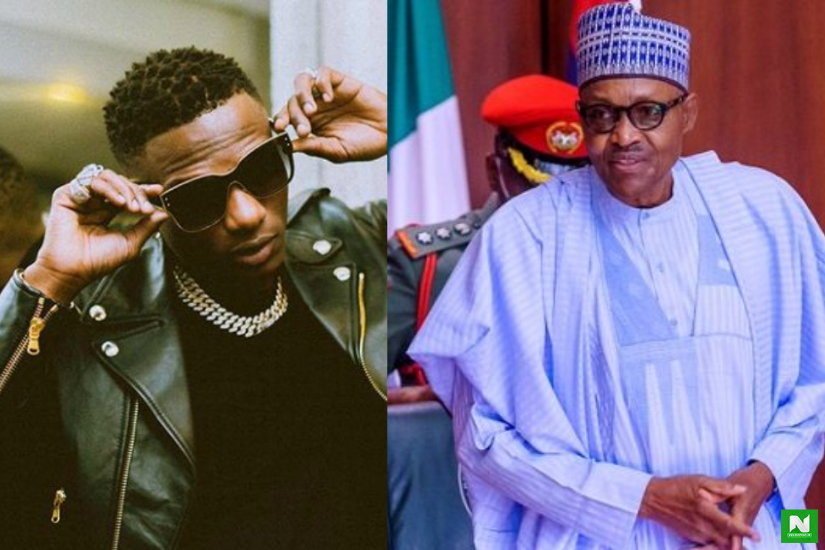 """Old Man, Face Your Country, Donald Trump Is Not Your Business"" – Wizkid Calls Out President Buhari Over SARS Threats"